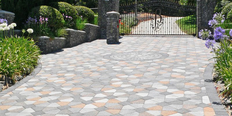 superb driveway styles #1: different-styles-of-driveway