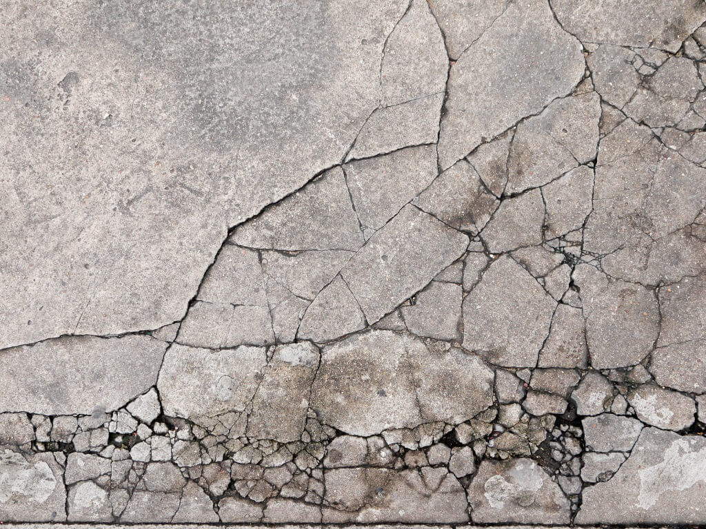 How to repair a crumbling concrete driveway