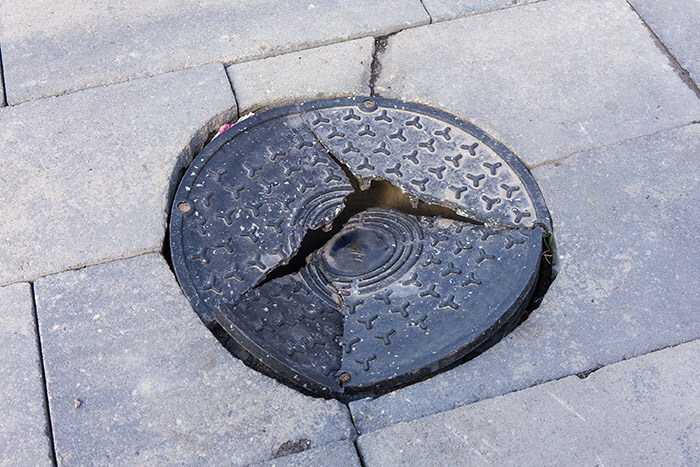 how to drain water from driveways